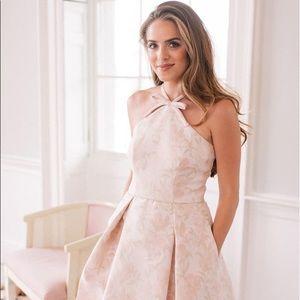 NWT gal meets glam bow jacquard dress